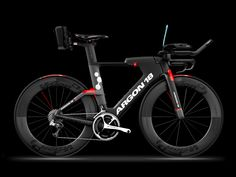 Triathlon bike E-119 Tri+ triathletes IRONMAN™ aerodynamics