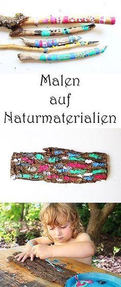 Basteln Mit Naturmaterialien... Mal Anders:) + Video