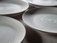 fine linen with purple: Pottery