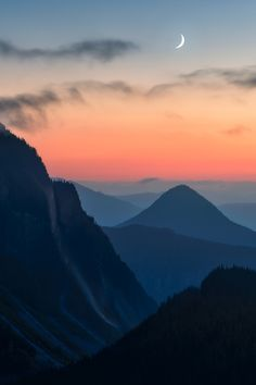 The Layers of Mount Rainier National Park OC