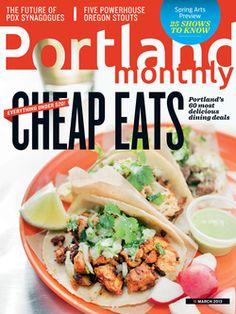 March 2013: Cheap Eats