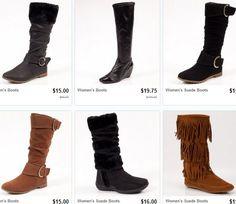 Ladies Fashion boots sale 80% off