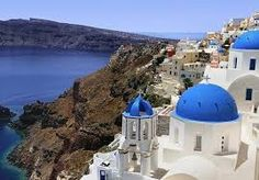 Free art print of Blue Dome Churches Oia Santorini. Blue domed churches on the Caldera at Oia on the Greek Island of Santorini. Destination Voyage, European Destination, Sailing Greece, Sailing Boat, Things To Do In Santorini, Greece Honeymoon, Princess Cruises, Travel Channel, Vacation