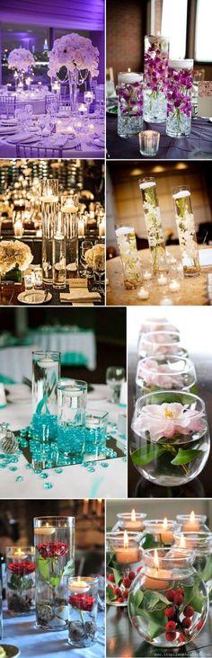 top 16 stunning floating wedding centerpiece ideas