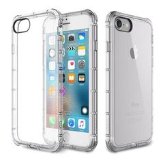For iPhone 7 Case ROCK Fence Series Drop Protection Cases Shock Absorption For iPhone 7 Plus Phone Cases Backcover Protector