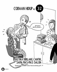 Komik Biebo: Cobaan Hidup by Komik Biebo Cartoon Jokes, Funny Cartoons, Jokes Quotes, Funny Quotes, Qoutes, Funny Ghetto Memes, Life Problems, Meme Comics, Quotes Indonesia
