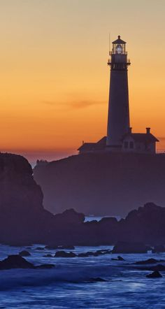 This sunset shot of Pigeon Point Lighthouse is one of my favorites.