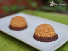 Olor a jazmín: Coquitos con chocolate