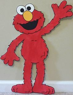 ONE 2ft Sesame Street Character by supercutecutouts on Etsy