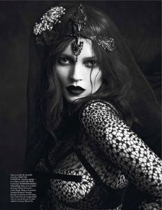 : kate moss by mert and marcus for vogue paris september 2012