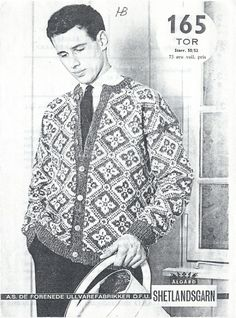 Tor 165 Norwegian Knitting, Iceland, Knitting Patterns, Wool, Crochet, Mens Tops, Shirts, Vintage, Fashion