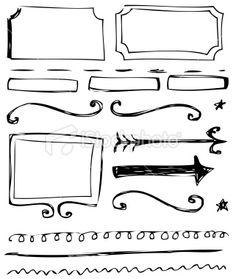 Doodles Royalty Free Stock Vector Art Illustration
