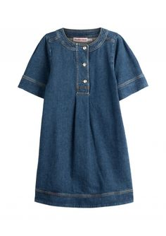 13+Denim+Dresses+Alexa+Chung+Would+Totally+Wear+via+@WhoWhatWear