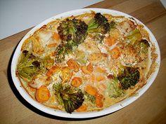 Kuche Guten Appetit: Hähnchen-Gemüse-Auflauf