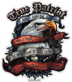 True Patriot Eagle 12 Inch Decal Product Code by RescueTees, $28.00