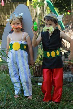 couture déguisement asterix obélix moustache fabriquer menhir créer facile gratuit