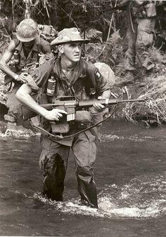 Soldiers of the 101st Airborne Division. http://www.pinterest.com/jr88rules/vietnam-war-memories/  #VietnamMemories