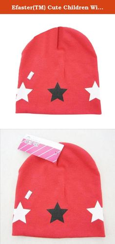 Efaster(TM) Cute Children Winter Crochet Hat Fur Wool Knit Beanie Warm Cap (Coffee) (Red). Happy Shopping Start From Here --- Efaster Specification: ▶100% brand new and high quality ▶Quantity:1PC ▶Gender:Unisex ▶Item type:Hats ▶Style:Casual ▶Material:Cotton ▶Size:Suitable baby head circumference 40-50CM, 1 to 3 years old ▶Pattern type:Print Star ▶Package include:1*Hats.