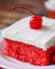 Cherry Sheet CakeReally nice recipes. Every hour.Show me what  Mein Blog: Alles rund um die Themen Genuss & Geschmack  Kochen Backen Braten Vorspeisen Hauptgerichte und Desserts # Hashtag