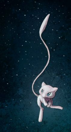 Not normally the cutesy, girly type, but Mew is most definitely my favorite legendary Pokemon. Pokemon Mewtwo, Mew And Mewtwo, Pokemon Fan Art, Pokemon Stuff, Eevee Evolutions, Pokemon Pictures, Catch Em All, Digimon, Minions