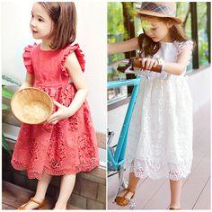 $16.99 (Buy here: https://alitems.com/g/1e8d114494ebda23ff8b16525dc3e8/?i=5&ulp=https%3A%2F%2Fwww.aliexpress.com%2Fitem%2F2016-Summer-Kids-Girl-Princess-Dress-Korean-Dress-Ruffles-lace-Dress-Fairy-Clothings-4-12yrs%2F32620177110.html ) 2016 Summer Kids Girl Princess Dress Korean Dress Ruffles&lace Dress Fairy Clothings 4-12yrs for just $16.99