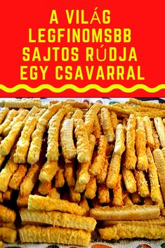 A legfinomabb egy különleges összetevővel. #sajtos  #rúd Tart Recipes, Appetizer Recipes, Cooking Recipes, Smoothie Fruit, Good Food, Yummy Food, Salty Snacks, Salty Cake, Hungarian Recipes