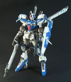 GUNDAM GUY: 1/100 GP04G Gundam - Customized Build
