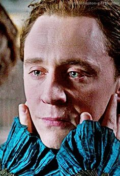 Tom Hiddleston, - Do we have to do this ? Must we ? - Yes. You...