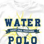 Water Polo Shirt Designs | Custom Water Polo T-Shirts - Cool Water Polo Team Shirt Designs - All ...