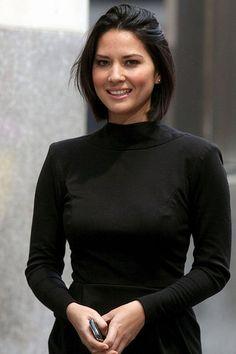 Short Hair Style - Latest Hair style of Olivia Munn