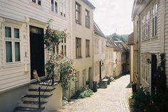 Bergan, Norway. By Anett Holmvik, via Flickr