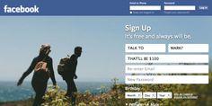 Pay $100 to Talk to Mark Zuckerberg at Facebook