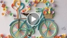 13 Paper Quilling Design Ideas That Will Stun Your Friends – Quilling Techniques Paper Quilling Flowers, Paper Quilling Tutorial, Paper Quilling Patterns, Origami And Quilling, Quilled Paper Art, Quilling Paper Craft, Paper Flowers Diy, Diy Paper, Paper Crafts