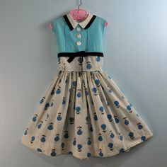 1950s girl's dress by Ninainvorm, via Flickr