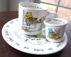 Paddington Bear - Coalport 3 Pieces Mug, Plate, Egg Cup | eBay