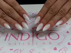 Natural White Cream Gel, Easy Shape Milky Pink Gel, Perfect Clear Gel by Paula z Madeleine Studio #nails #nail #babyboomer #french #ombre #winter #white