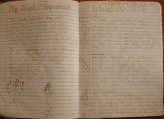 "7th grader Kage won a ""Mr. Stick of the Week"" award for his five Important Book-inspired passages.  Here is the lesson that inspired Kage: http://corbettharrison.com/lessons/important-passages.htm"