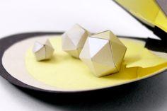 Paper toys de moules ou mulettes perlières (détail) - Réalisation en papier (Paper craft) - Les Fasces Nébulées