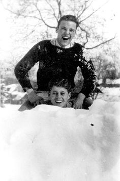Jack Kennedy's best friend, Lem Billings, was gay.  That was never an issue for Jack.  They are shown at Choate in 1934.