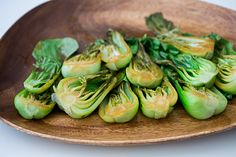 Oven-Steamed Bok Choy with Soy Sauce Recipe by Cook Smarts - won't make again
