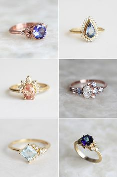5 Major Engagement Ring Trends For 2018 You Need to Know! - Kaylynn Condry 5 Major Engagement Ring Trends For 2018 You Need to Know! The options for engagement ring styles seem endless, and there's always something new to. Cheap Wedding Rings, Cheap Engagement Rings, Engagement Ring Styles, Engagement Ring Settings, Vintage Engagement Rings, Unusual Wedding Rings, Wedding Bands, Wedding Jewelry, Ring Designs