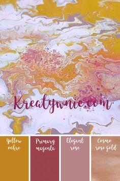 Metaliczna farba mineralna fleur 130 ml - Cosmo Rose Gold Cosmos, Shabby, Rose Gold, Movie Posters, Film Poster, Popcorn Posters, Universe, Film Posters, Posters