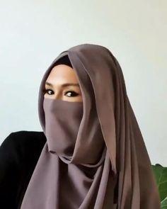 Turkish Hijab Tutorial, Pashmina Hijab Tutorial, Hijab Style Tutorial, Hijab Turban Style, Mode Turban, Niqab Style, How To Wear Hijab, Instant Hijab, Simple Hijab