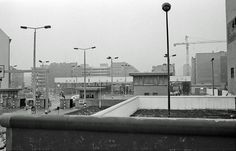 Berlin March 1986. Grenzübergang Friedrichstraße, otherwise known as Checkpoint Charlie.