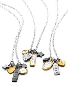 Create your own Trinket Necklace | Chambers & Beau | Personalised Jewellery