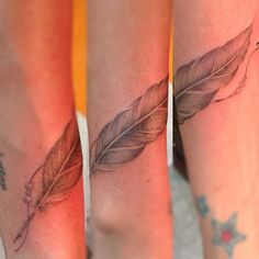 Feather wrist wrapper