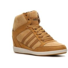 adidas NEO Super Wedge Sneaker - Womens