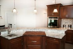Would YOU like a butcher block integrated into your countertop? - Design Build Pros