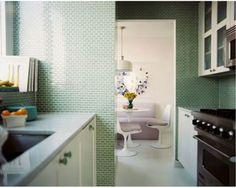 couleurs-cuisine-salle-a-manger-vert-blanc-noir