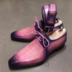 Pink men's shoes and belt Mens Shoes Boots, Men's Shoes, Shoe Boots, Dress Shoes, Shoes Style, Ankle Boots, Dress Clothes, Mens Fashion Shoes, Leather Fashion